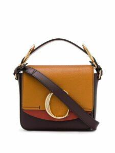 Chloé mini box tote - Brown