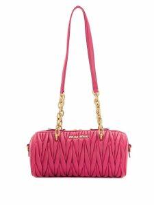 Miu Miu Matelassé Cylinder bag - Pink