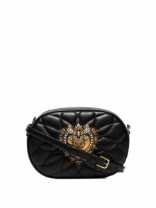 Dolce & Gabbana Devotion quilted camera bag - Black