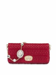 Miu Miu Cloquet shoulder bag - Red