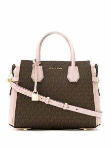 Michael Michael Kors medium Mercer satchel bag - Neutrals