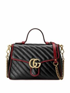 Gucci GG Marmont small top handle bag - Black