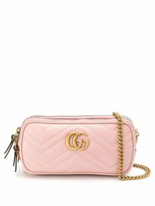 Gucci GG Marmont mini chain bag - Pink
