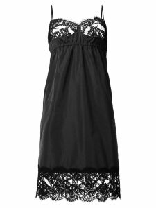 Nº21 lace cami-top-like dress - Black