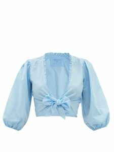 Loewe - Piacenza Oversized Belted Wool Blend Coat - Womens - Camel