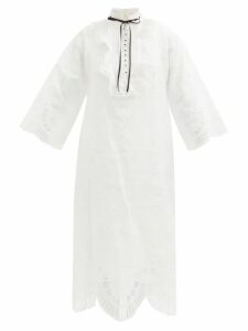Bottega Veneta - Quilted Leather Down Filled Coat - Womens - Black