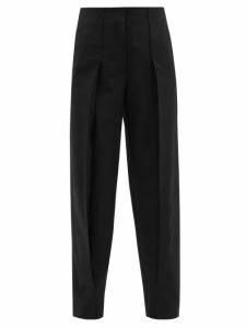 Atm - V Neck Cotton Jersey T Shirt - Womens - Grey