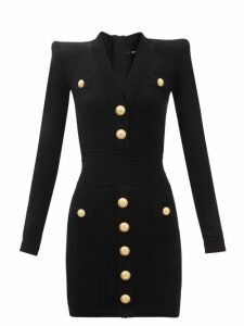 Raey - Dolman Sleeve Silk Blend Shirt - Womens - Black