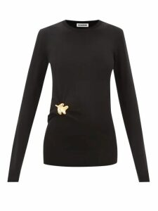 Altuzarra - Caroline Bird Print Silk Knee Length Skirt - Womens - Blue Print