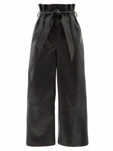 Msgm - Snake Print Jersey Midi Skirt - Womens - Pink