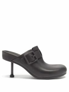 Fendi - Pleated Gate Print Silk Twill Skirt - Womens - Red Multi