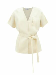 No. 21 - Ruched Tulle Dress - Womens - Black