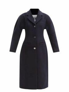 Rianna + Nina - Vintage Patchwork Print Silk V Neck Dress - Womens - Multi