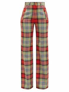 Weekend Max Mara - Cabina Silk Shirt - Womens - Orange Multi