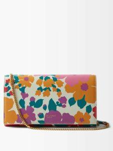 Altuzarra - Caroline Floral Print Midi Skirt - Womens - Black Print