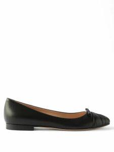 Dolce & Gabbana - Floral-print Silk Midi Dress - Womens - Pink Multi
