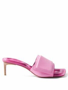 Thom Browne - Striped Cotton Piqué Cardigan - Womens - Navy