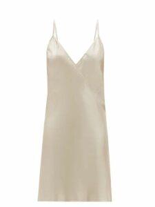Msgm - Graffiti Cat Print Wool Blend Cable Knit Sweater - Womens - Ivory