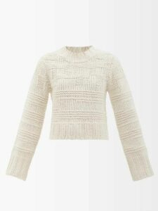 Msgm - Balloon Sleeve Denim Shirt - Womens - Light Denim