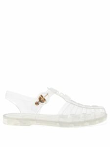 Msgm - Sequinned Pleated Midi Skirt - Womens - Red