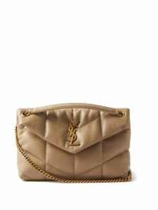 See By Chloé - Gathered Plissé Georgette Dress - Womens - Light Pink