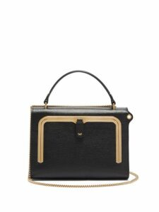 Anya Hindmarch - Postbox Small Grained Leather Cross Body Bag - Womens - Black