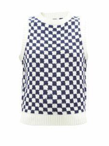 Anya Hindmarch - Leather Trim Tote Bag - Womens - Black