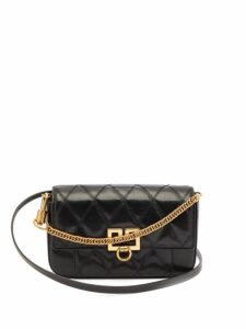 Givenchy - Gv3 Mini Leather Cross Body Bag - Womens - Black