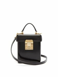 Mark Cross - Grace Mini Leather Cross Body Bag - Womens - Black