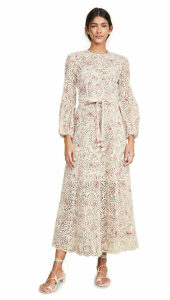 Zimmermann Honour High Neck Dress