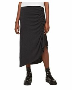 Allsaints Walla Ruched Midi Skirt