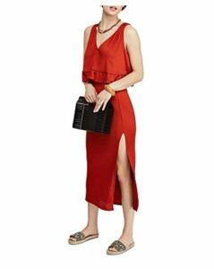 Free People No Excuses Cropped Top & Midi Skirt Set
