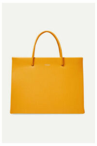 MEDEA - Prima Hanna Small Leather Tote - Mustard