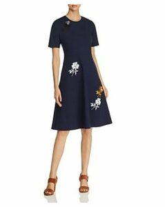 Tory Burch Embellished Ponte Dress