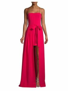 Gianni High-Low Gown