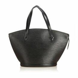 Louis Vuitton Black Epi Saint Jacques Pm