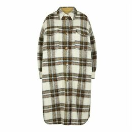Isabel Marant Étoile Gabrion Checked Wool-blend Coat