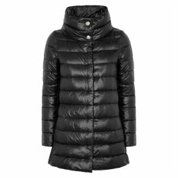 Herno Icon Black Shell Coat