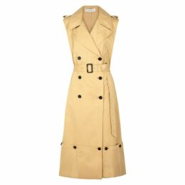JW Anderson Camel Cotton Trench Coat