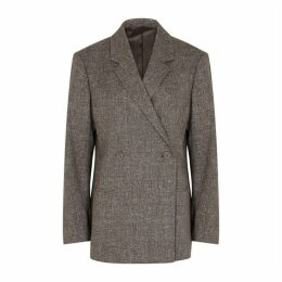 Totême Loreo Brown Cotton-blend Blazer