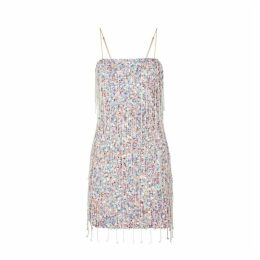 Retrofête Heather Pink Sequin Mini Dress