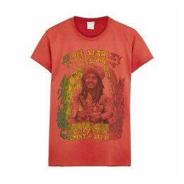 MadeWorn Bob Marley Movement Cotton T-shirt