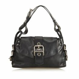 Dolce & Gabbana Black Leather Shoulder Bag