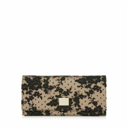 LILIA Black Floral Lace Mini Bag