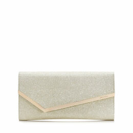 ERICA Platinum ice Dusty Glitter Clutch Bag