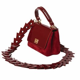 GISY - Metal Silk Wrap Ankle Dress