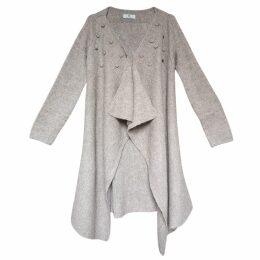 JIRI KALFAR - Red Silk Dress With High Neck