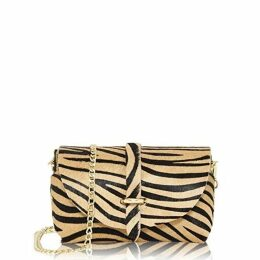 JIRI KALFAR - Royal Blue Velvet Embroidered Skirt