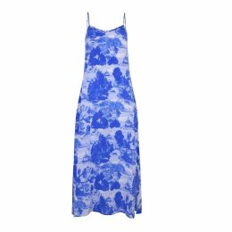 Klements - Dusk Slip Dress Le Mont Saint Michael Print