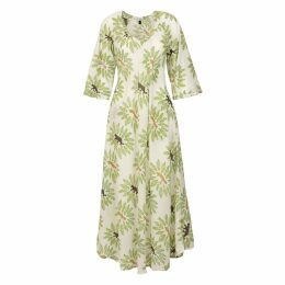 At Last. - Anna Cotton Dress - Jungle Cat